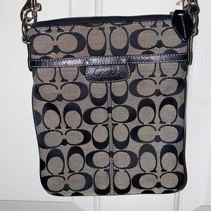 Classic Black Coach Bag